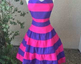 Cheshire Cat apron dress