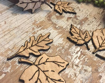Fall decor, table decor, thanksgiving table , wood decor, party decor, wooden fall leaves, fall table, custom, unfinished
