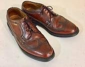 Vintage Leather Wingtip B...