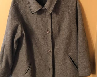 Vintage Gray Spy Coat