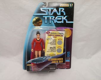 Star Trek Lt. Commander Jadzia Dax Action Figure - New in Box - NIB - Star Trek DS9 Trouble With Tribbles Temporal Investigations Episode