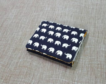 Kids Cash Envelope Wallet, Cash Budget Wallet -Black Elephant- for use with the Dave Ramsey System