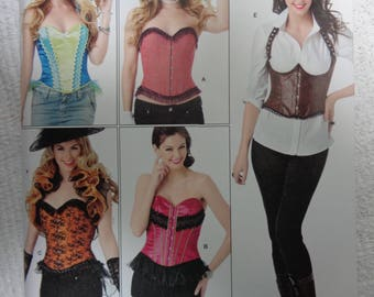 Simplicity 1345 Corset and Ruffled Shrug Sewing Pattern Sizes 14-22