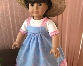 """Sundress & t-shirt for 18"""" doll"""