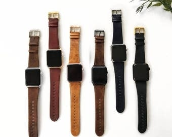 Apple watch leather, Apple watch band, Apple watch band 42mm, Apple Watch Strap, Apple watch, Wearable technology, Wearable tech,iWatch Band