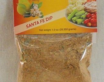 Santa Fe Party Dip and Seasoning Mix Wedding Party Favor Free Shipping