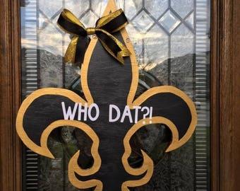 New Orleans Saints Door Hanger