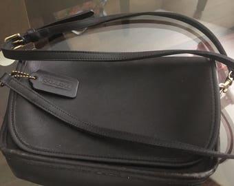 Vintage Coach Crossover Shoulder flap Bag