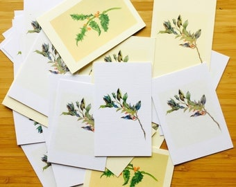 Holly Gift Cards Holly Yule Notebook Embellishments, Journaling Accessoires Decoration Gift Cards, Diary Notebook Decor Scrapbooking Planner