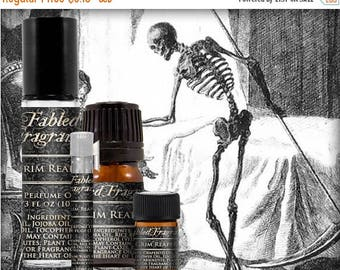 SALE GRIM REAPER Cologne: Forest Earth, Fresh Grass, Black Musk, Damp Soil, Black Pepper, Vegan Solid Perfume, Ships Out in 5-7 Days