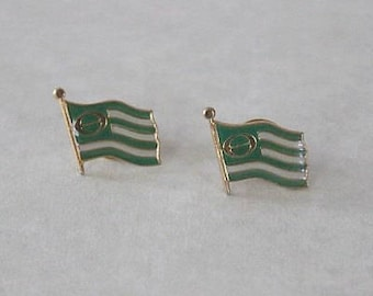 Vintage ECOLOGY FLAG Tack Pins - 1960s Old Store Stock (2 Total/Listing #3)