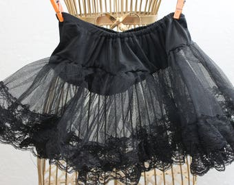 Vintage Childs Net and Lace Underskirt
