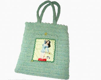 crochet bag PIN UP