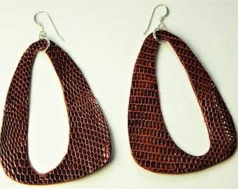 Earring 1 Pair HANDMADE Leather VHER127
