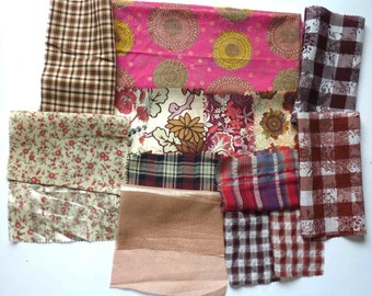 set of fabrics for patchwork 255 coupons