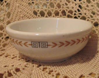 Vintage Shenango China DeSoto Pattern Restaurant Ware  Bowl