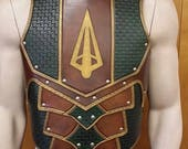 Leather Armor Sentinel 2 chest & back with graphic