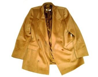 3 Days Sale - MARELLA  Brown Blazer Coat Made in Italy Era 1980s - size M/L -