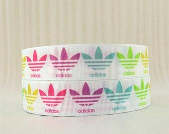 "1"" Adidas Grosgrain Ribbon"