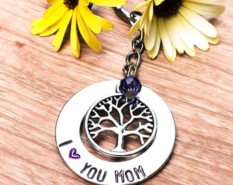 I love you mom necklace, Mother's Day gift, gift under 20, gift for her, mom, nana, mimi, mammie, Tia, grandma, mama