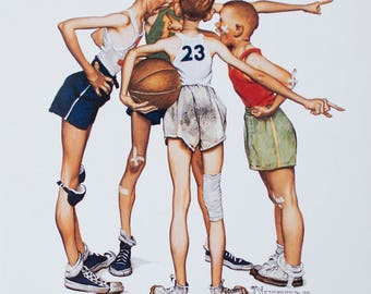 Norman Rockwell-Oh Yeah!-1997 Poster