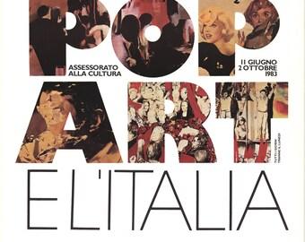 Il Pop Art El'Italia-1983 Poster