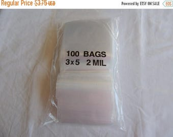 On Sale 3x5 Zip Lock Poly Bags Recloseable Bags