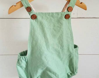 Melon Romper, baby romper, romper, little girls clothing,
