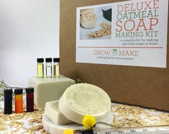 DIY Deluxe Oatmeal Soap Kit