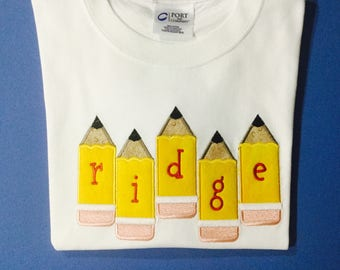 Personalized Back to School shirts, First day of school tees, Back to school T=Shirts for Boys or Girls