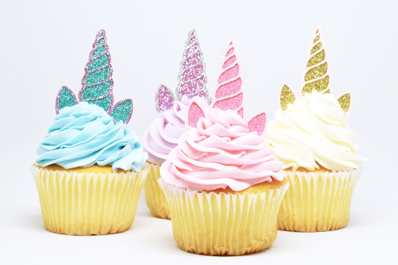 Cup Cake Birthday Decorations