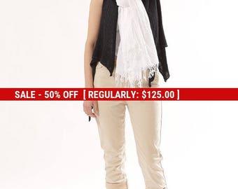 SALE Summer White scarf, White cotton scarf, White shawl, White scarf