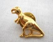 Vintage T Rex Dinosaur Pin