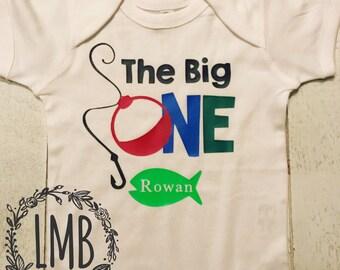 The Big One first Birthday onesie / tee