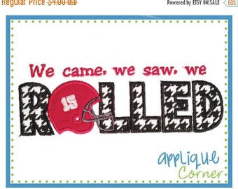 40% OFF 898 We Came, We Saw, We Rolled applique digital design for embroidery machine by Applique Corner
