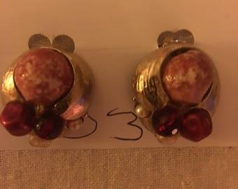 Beautiful FROG EARRINGS pierced