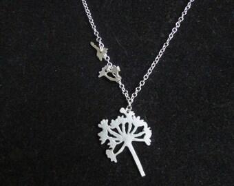 DANDELION, dandelion necklace