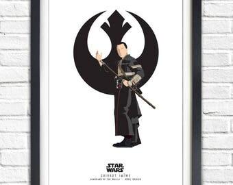 Star Wars - Solo Series - Chirrut Imiwe - 19x13 Poster