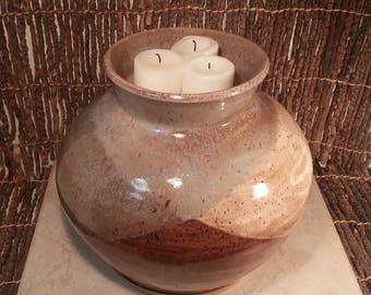 Custom Cremation Urn - Stoneware Cremains Jar - IGNEOUS