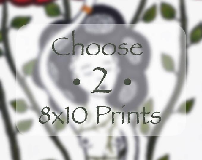 Choose Two 8x10 Prints