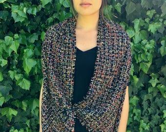 Rainbow french tweed Owlet