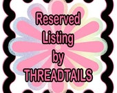 Reserved Listing for Tracee