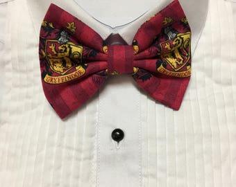 Bravery Wizard House Bowtie / Bow Tie