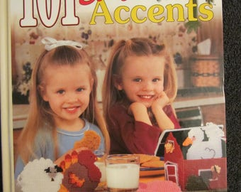 101 Easy Home Accents in Plastic Canvas