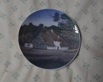 ON SALE   Small Plate by Royal Copenhagen of Denmark of the Peter Lieps Hus