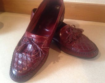 Mens Leather Tassel Loafers!!