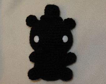 Chibi Shadow Freddy amigurumi plush (black)