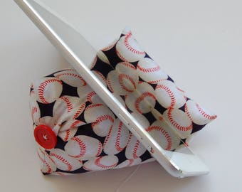 Baseballs Holder Beanie for any smart phone and tablet or device