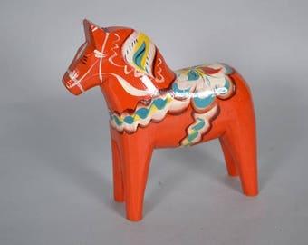 Mid Century  Nils Olsson Swedish dala horse - Scandinavian design
