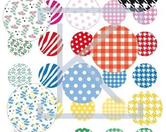 Images digital patterns, Zebra, polka dots, floral, gingham